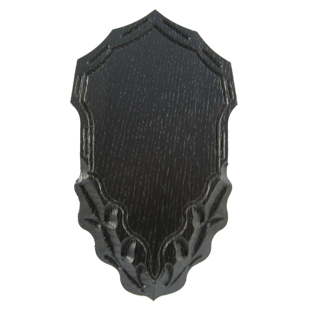 Gehörnbrett mit Kieferfach (verziert) - Trophäenberarbeitung