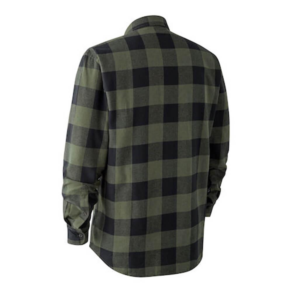 Deerhunter Flanellhemd Marvin (Big Green Check)