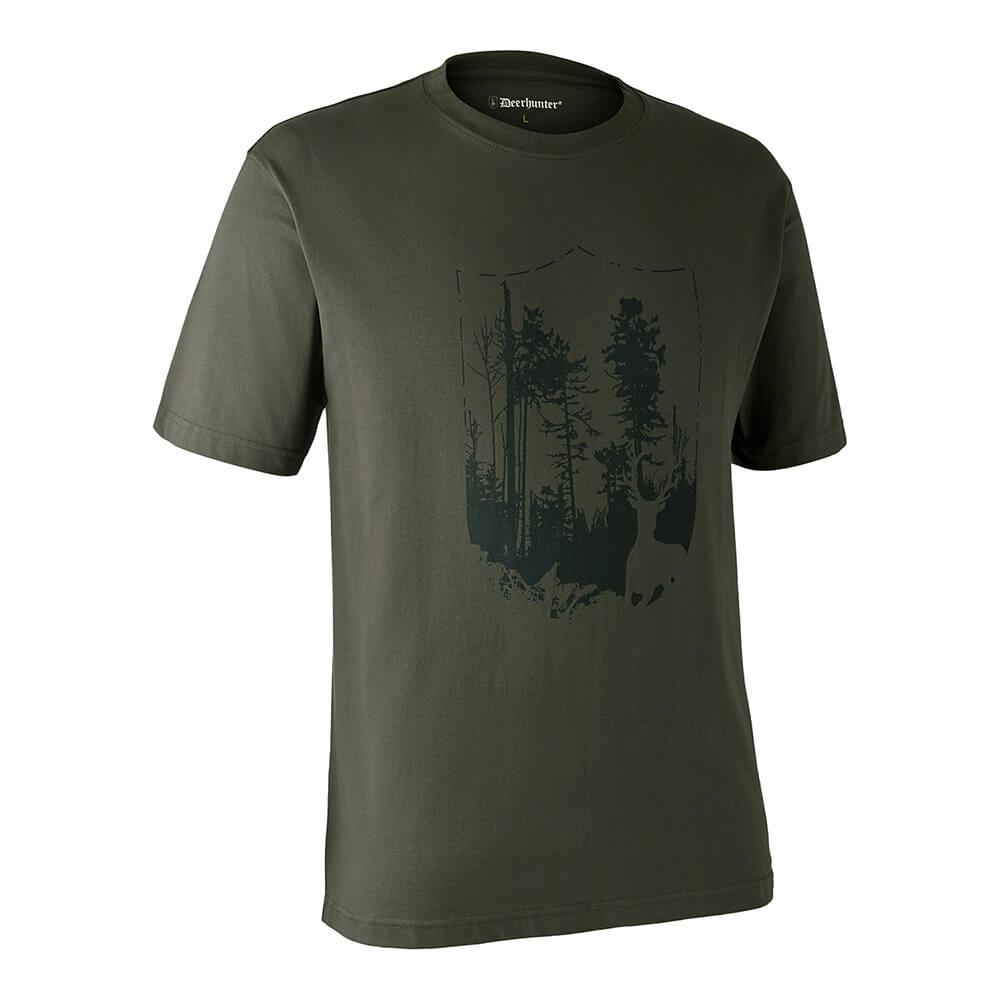Deerhunter T-Shirt Shield - Sommer-Jagdbekleidung