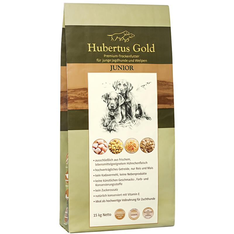 Hubertus Gold Premium Trockenfutter Junior 14kg