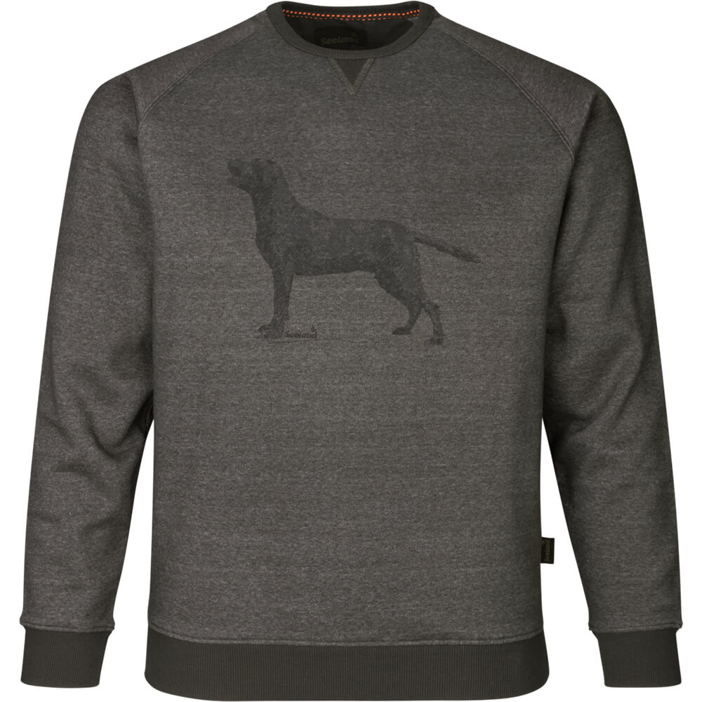 Seeland Sweatshirt Key-Point (Grey melange) - Jagdpullover