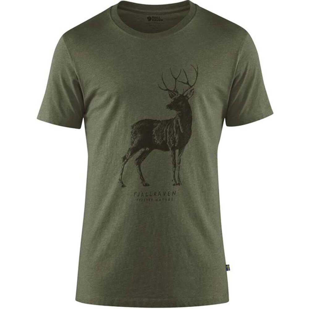 Fjällräven T-Shirt Deer - Jagdbekleidung Herren
