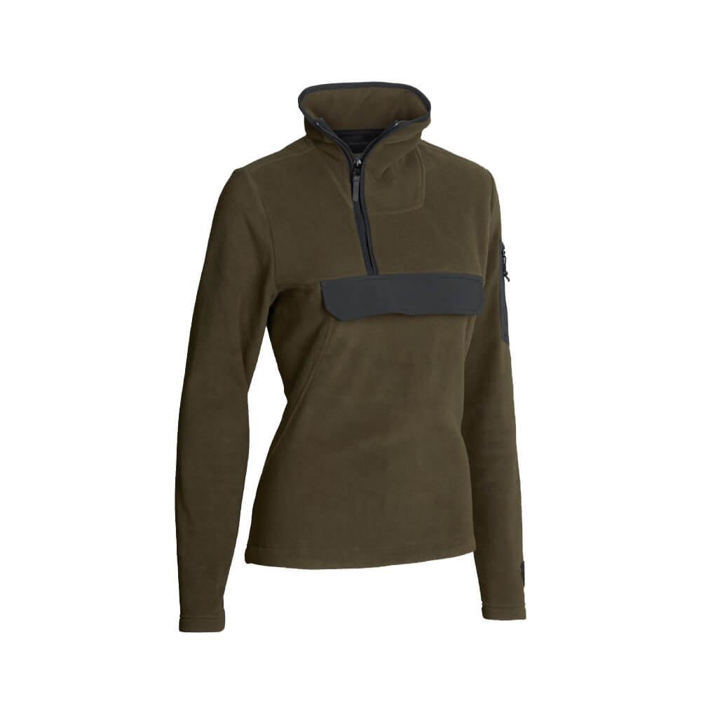 Northern Hunting 1/2 Zip Pullover Fera - Blusen & Shirts