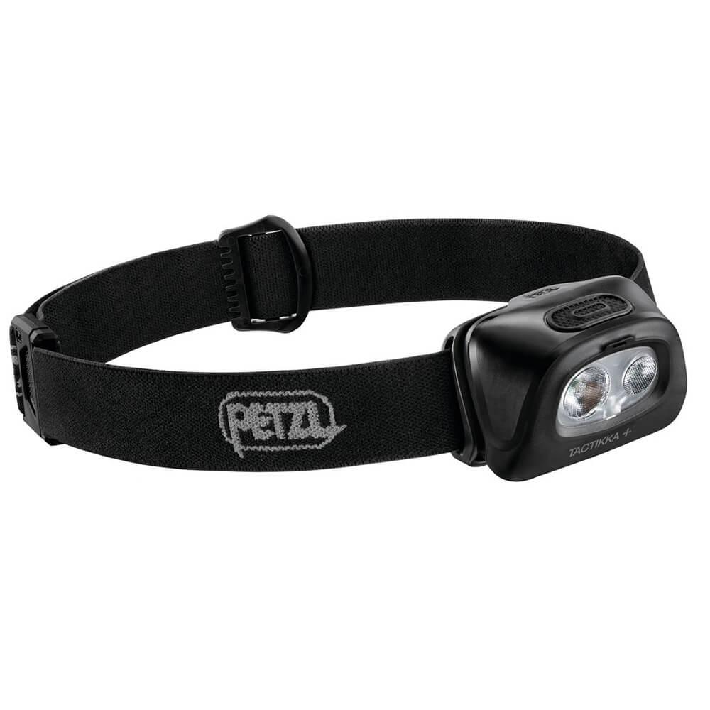 Petzl Stirnlampe Tactikka+ Black - Lampen