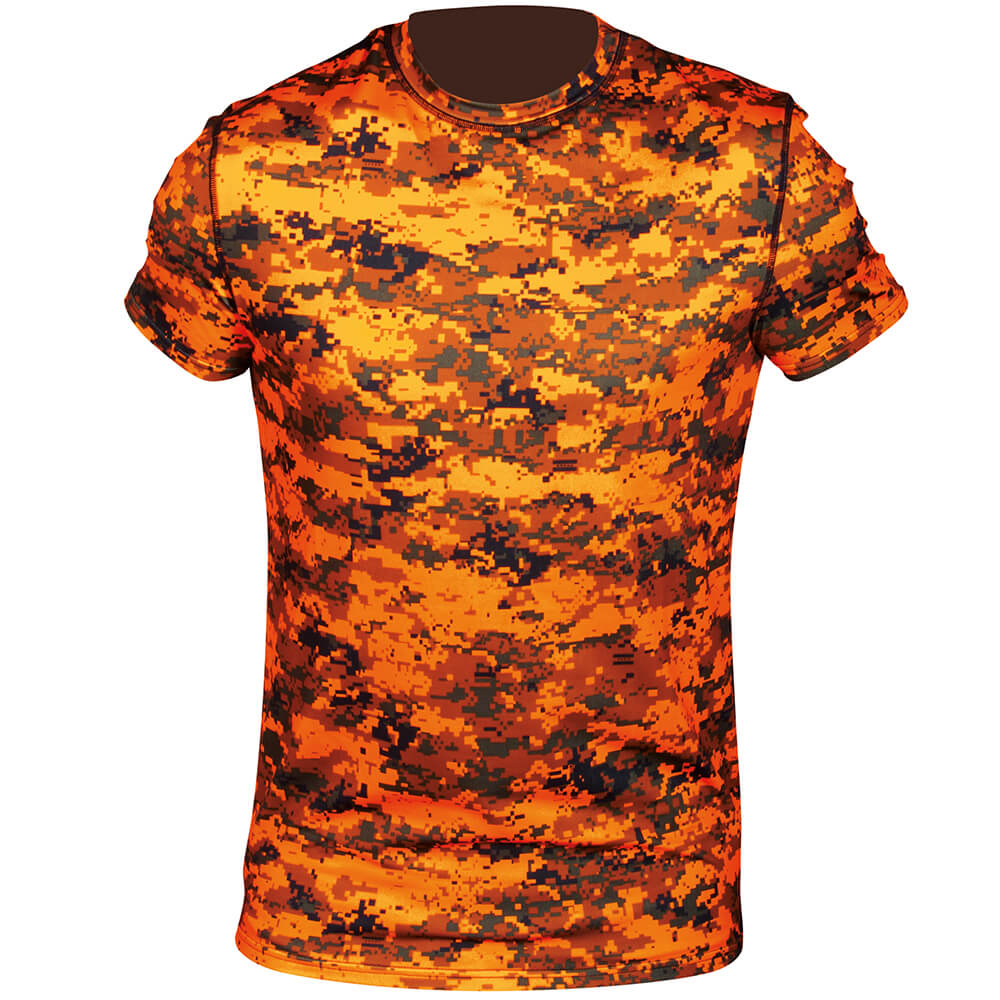 Hart Funktions-Shirt Aktiva-S (Pixel Blaze) - Drückjagd
