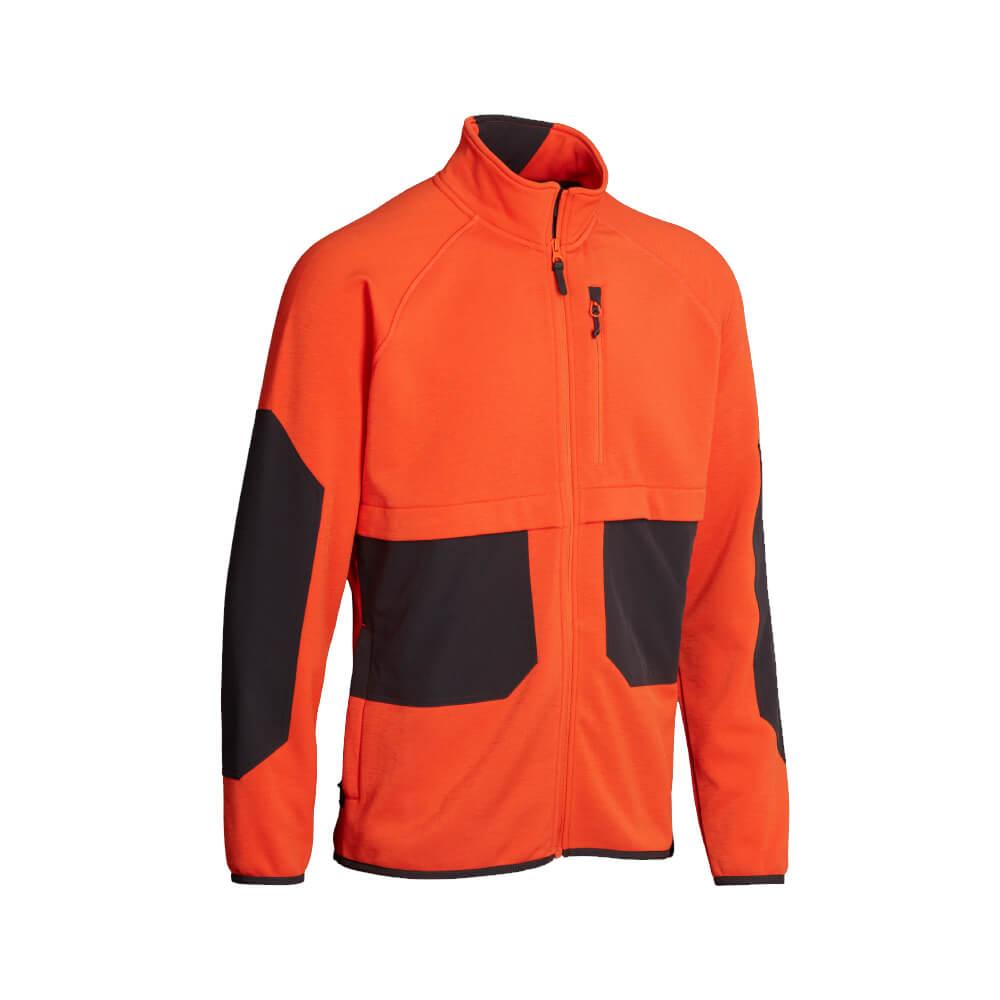 Northern Hunting Fleecejacke Bur (orange) - Jagdjacken