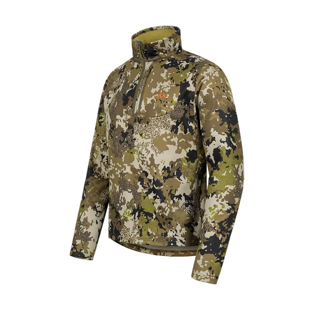 Blaser HunTec Sweater Drain (Camo) - Blaser Huntec