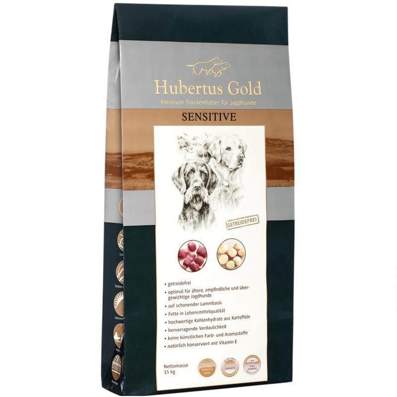 Hubertus Gold Premium Trockenfutter Sensitive 14kg - Hubertus Gold