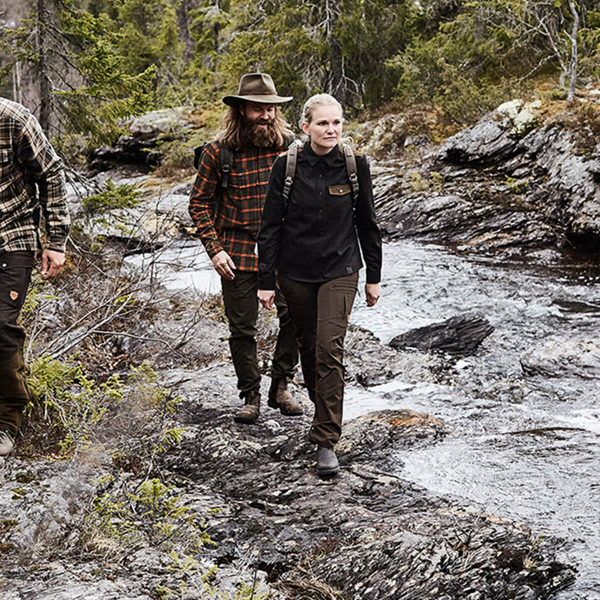 Northern Hunting Lodenhemd Roskva