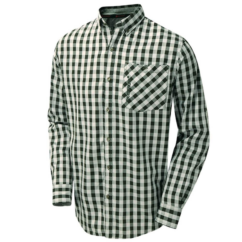 ShooterKing Bamboo Hemd (grün) - Jagdhemden