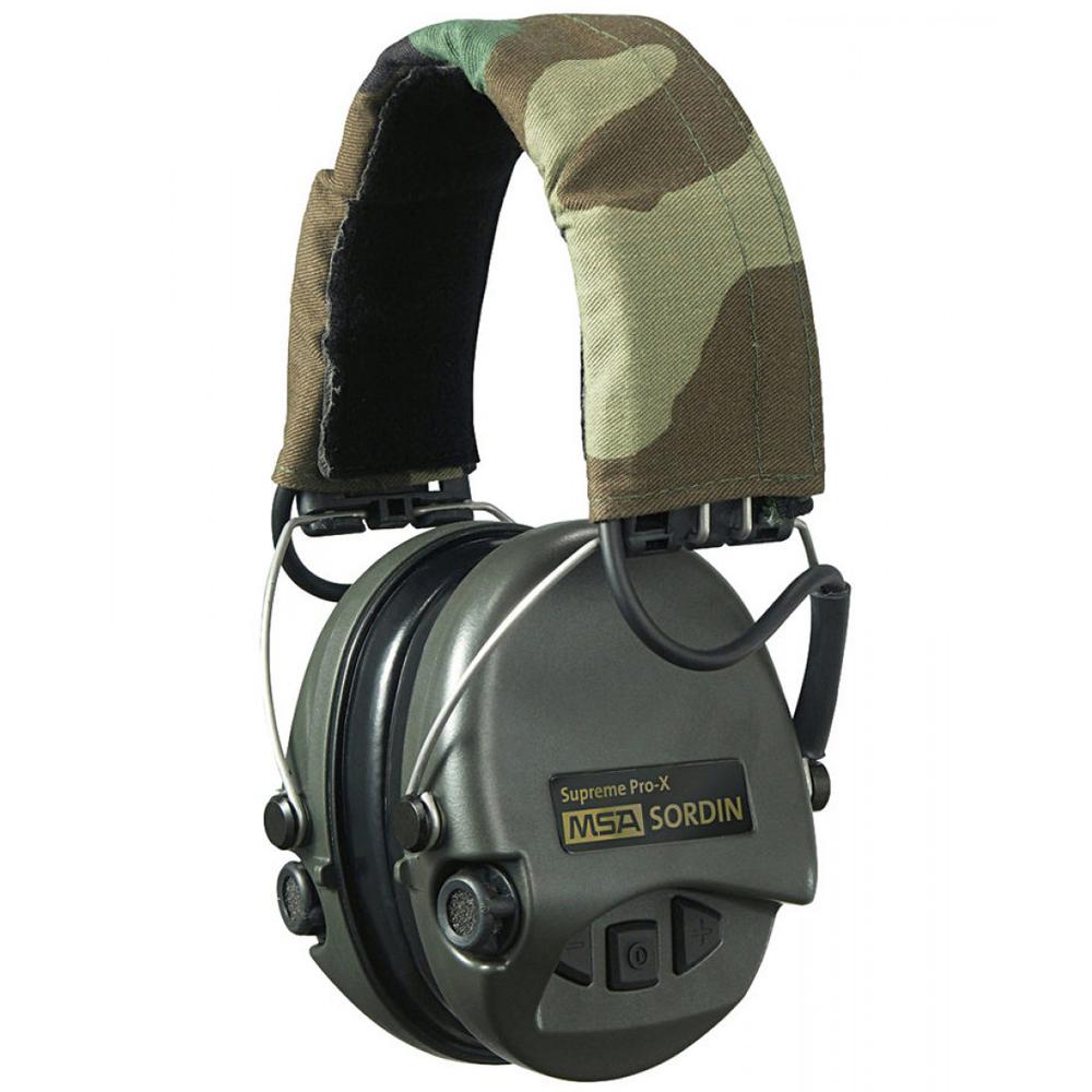 MSA Sordin Supreme Pro X Gehörschutz Camo - Fuchsjagd