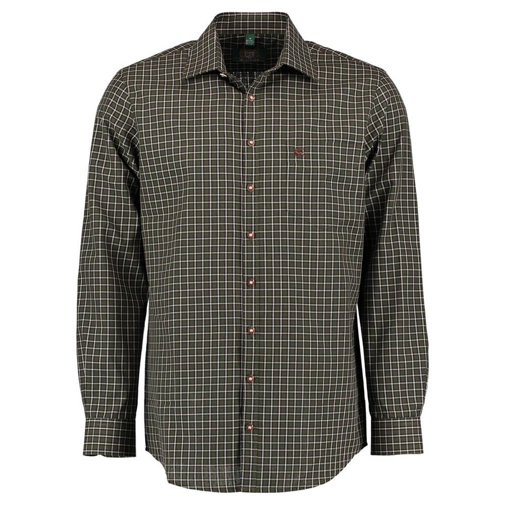 OS Trachten Hemd Regular fit (Grün) - OS Trachten