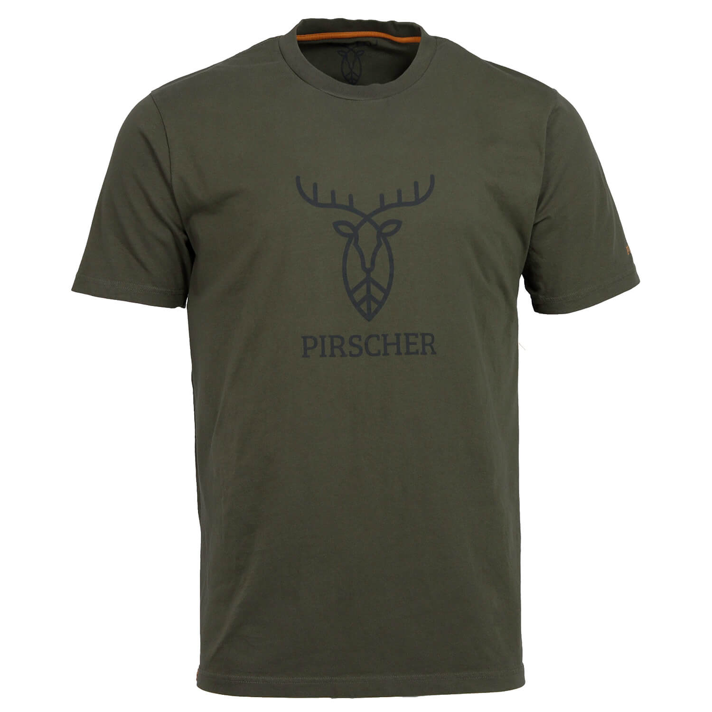Pirscher Gear T-Shirt Logo (Grün)