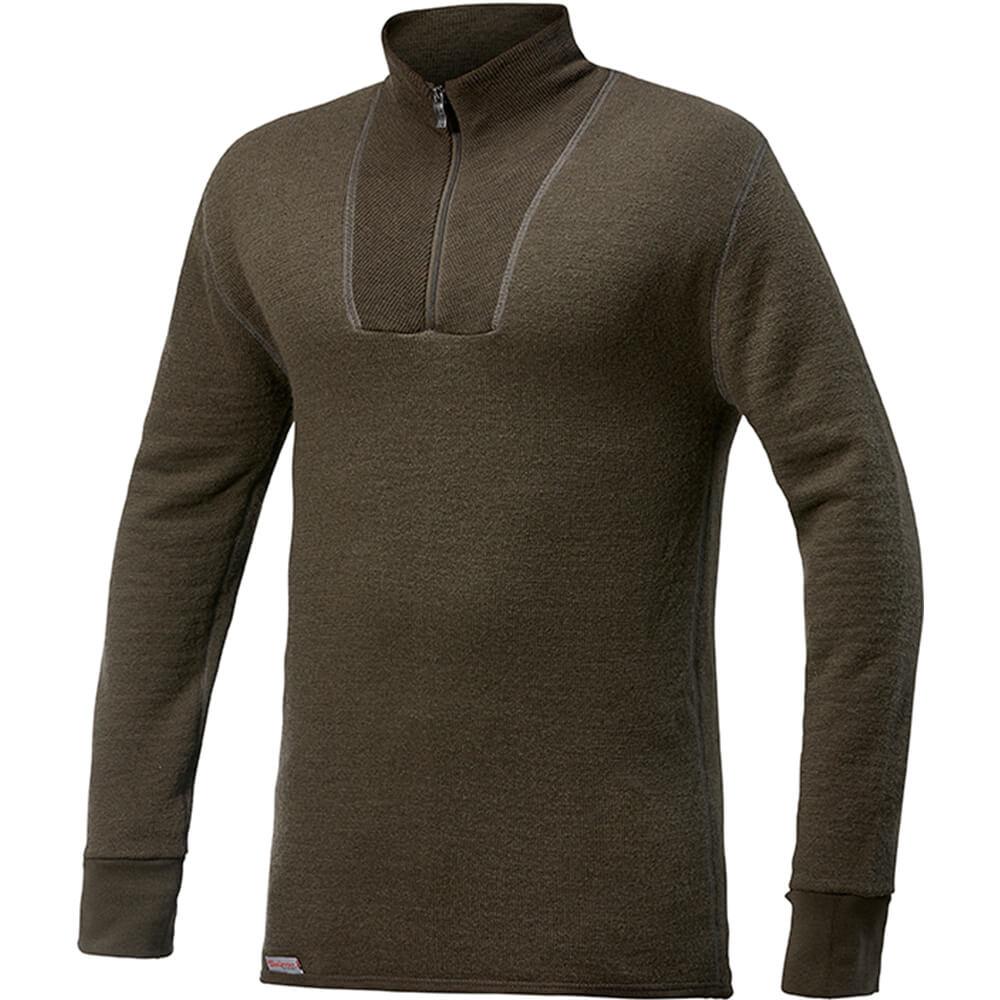 Woolpower Zip Turtleneck Shirt 400 - Unterwäsche