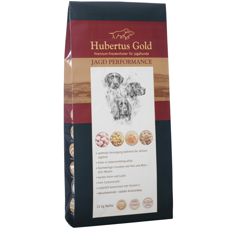 Hubertus Gold Trockenfutter Jagd Performance 14kg