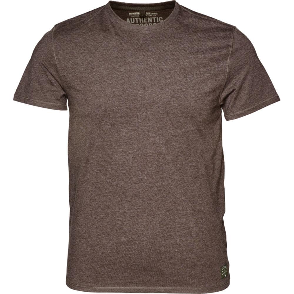 Seeland T-Shirt 2er-Pack Basic (Moose brown/Forest night)