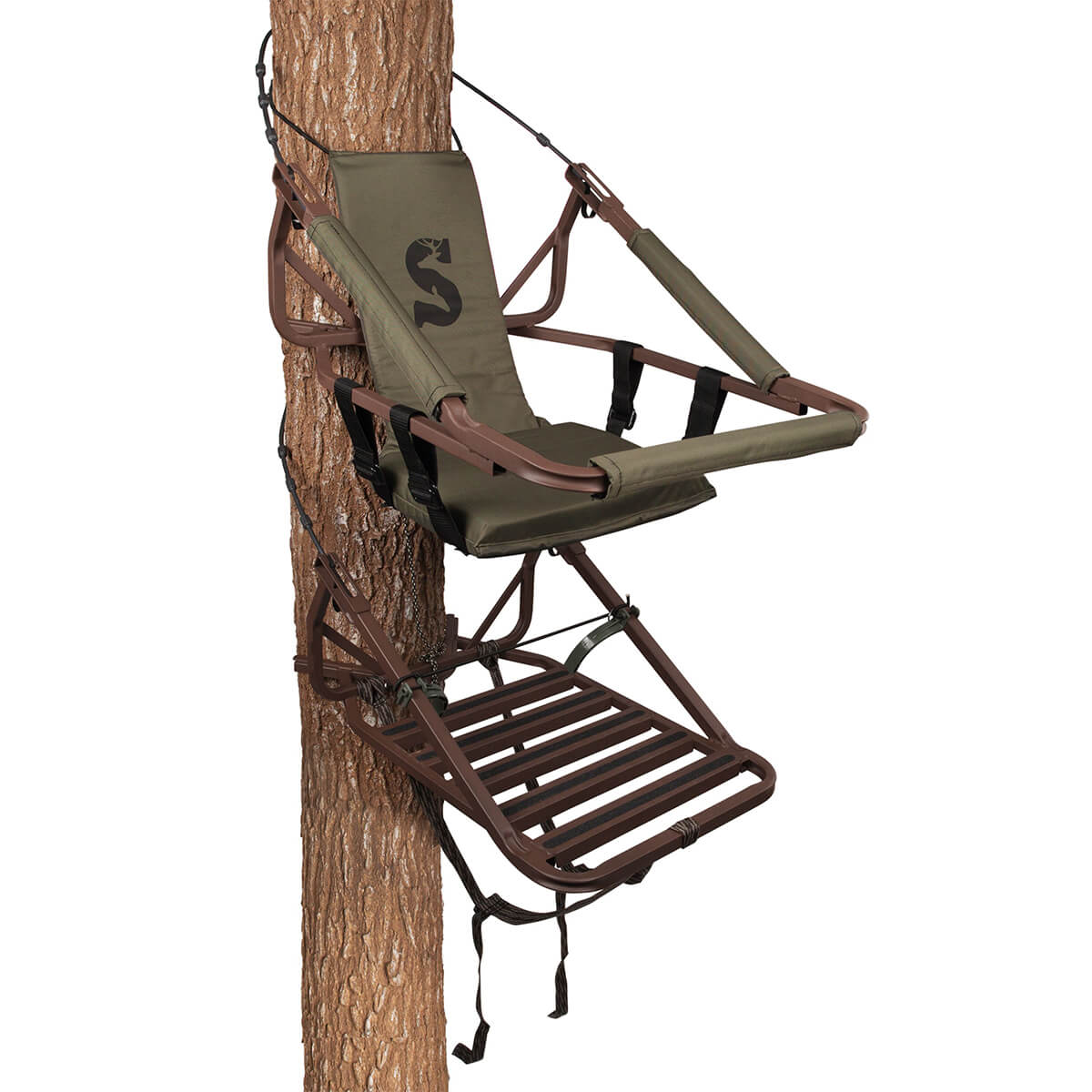 Summit Treestands Klettersitz Viper Steel