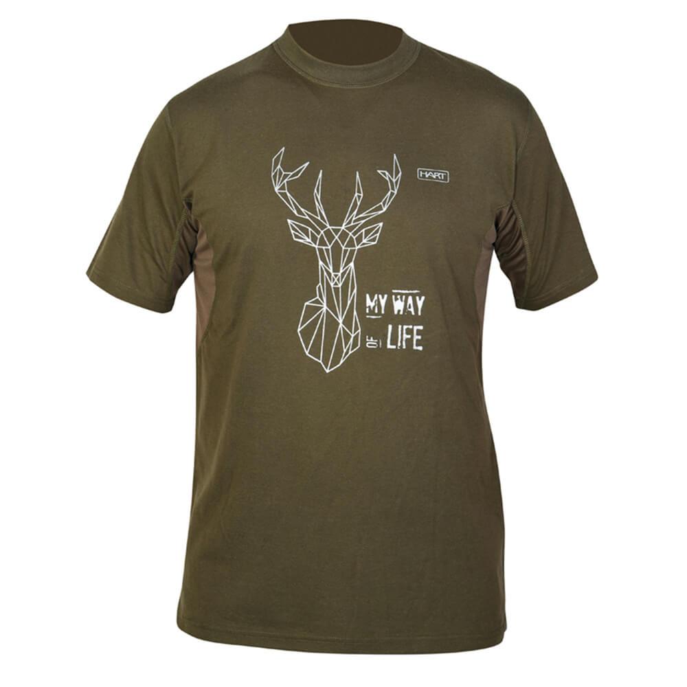 Hart T-Shirt Branded (Deer) - Geschenke für Jäger