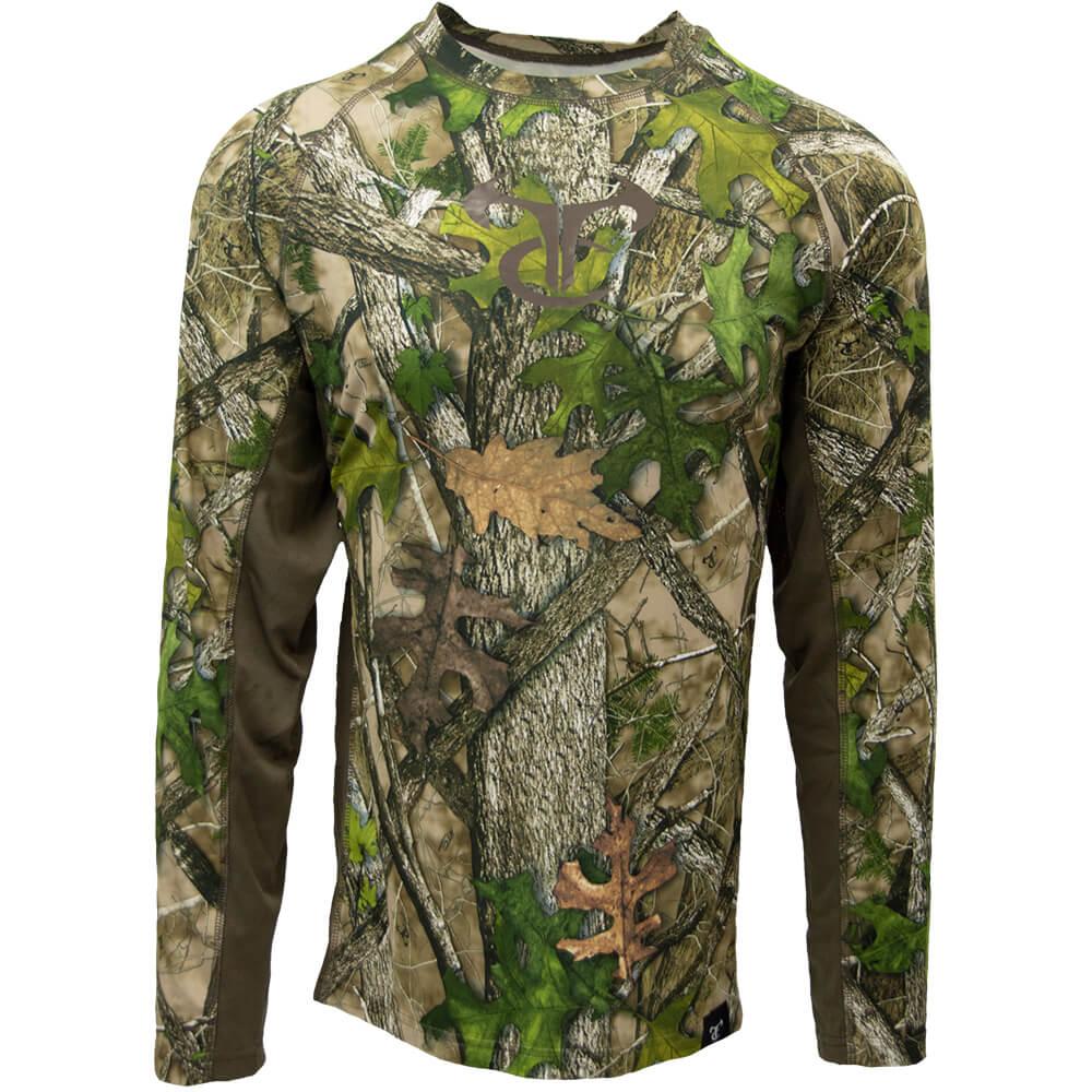 TrueTimber LS Shirt HTC Green - Shirts