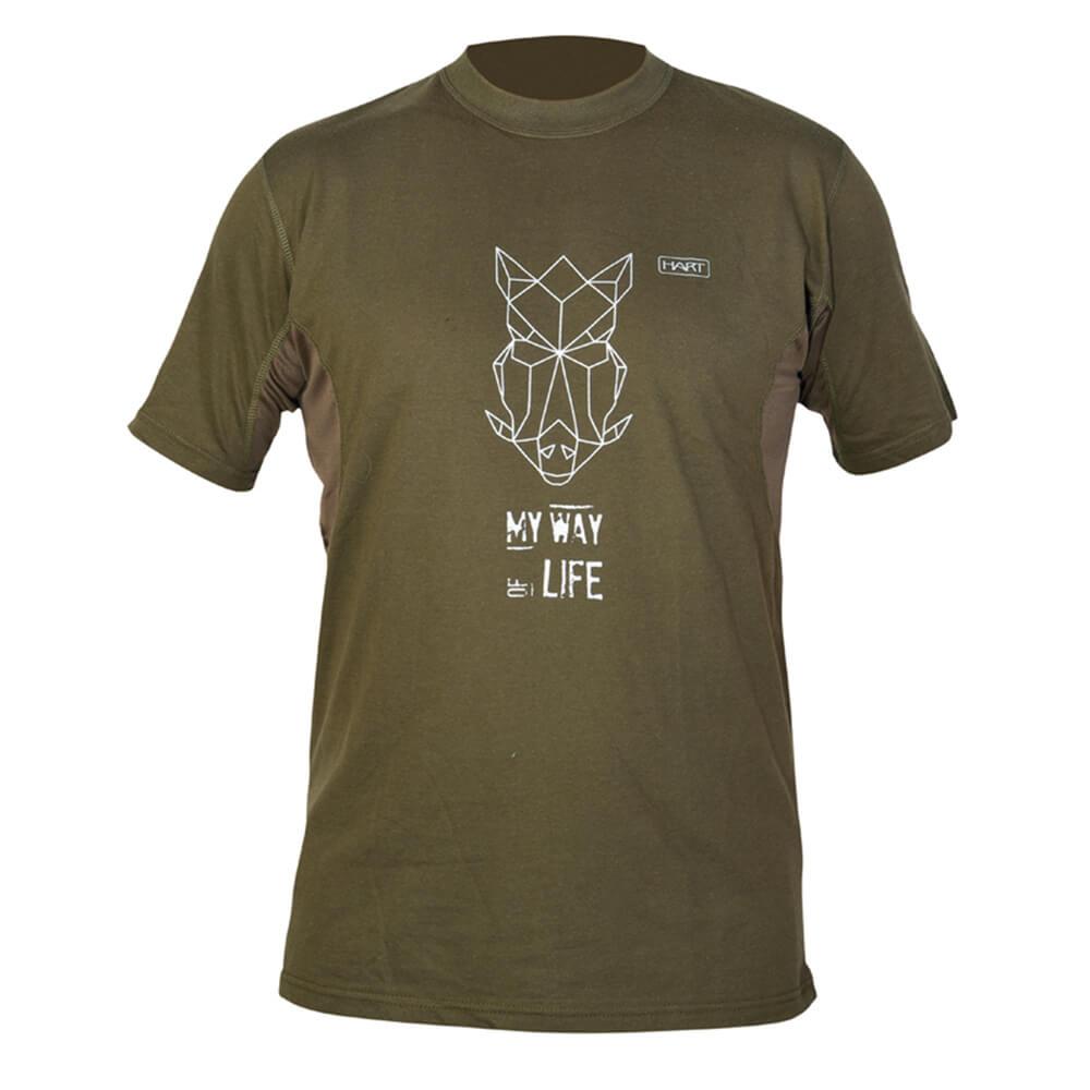 Hart T-Shirt Branded (Wildpig) - Sommer-Jagdbekleidung