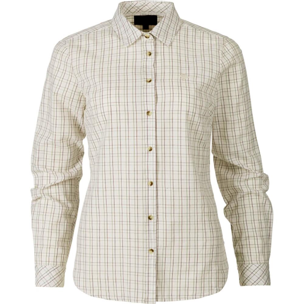 Seeland Claire Hemd Damen (Tofu check) - Blusen & Shirts