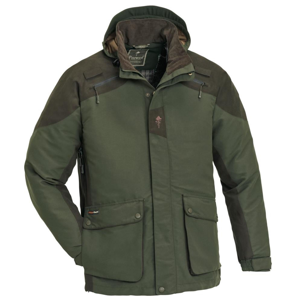 Pinewood Red Deer Jacke - (Grün) - Jagdjacke