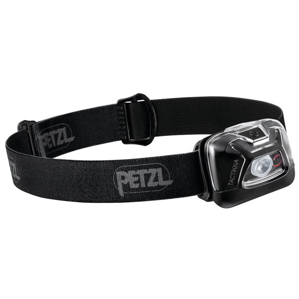 Petzl Stirnlampe Tactikka Black - Lampen