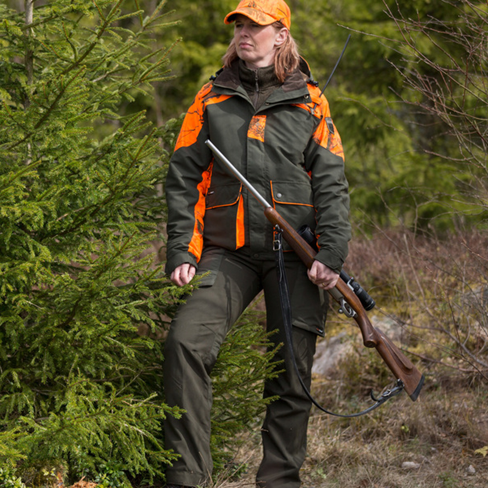 Pinewood Red Deer Damen Jacke - Grün/APB