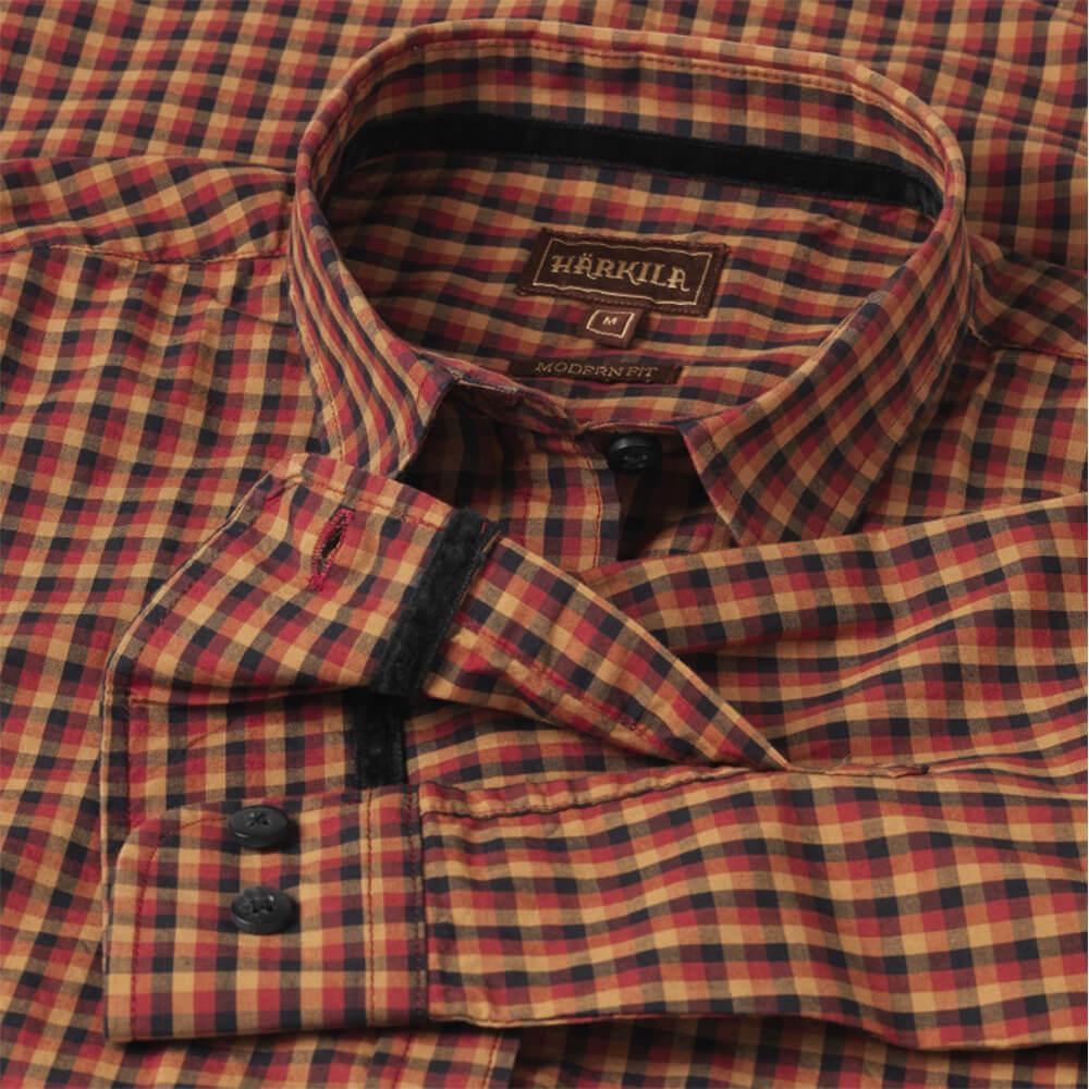 Härkila Selja Damen Hemd (red/black check)